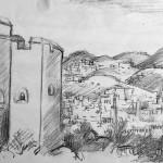 Handzeichnung-Marokko-19
