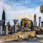 Ausgrabungsstätte Marokko